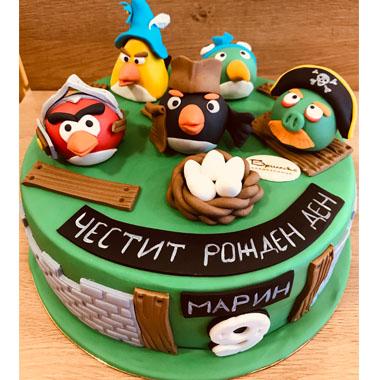 Торта Angy Birds