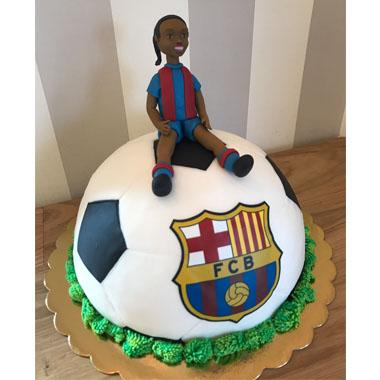 Торта Роналдиньо - Барселона