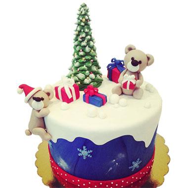 Торта Коледни мечоци