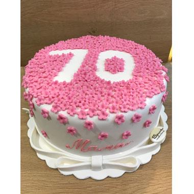 Торта Розови цветя