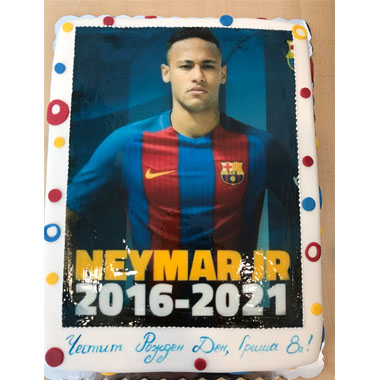 Торта Neymar - K 15