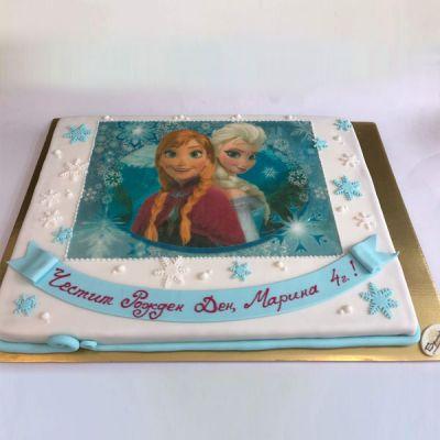 Торта Анна и Елза