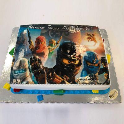 Торта Лего Нинджаго 2