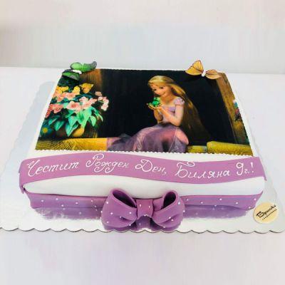 Торта Рапунцел 2