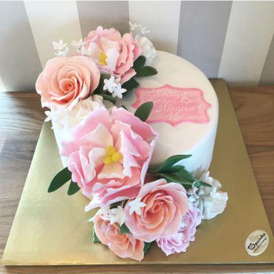 Торта с Цветя - 05