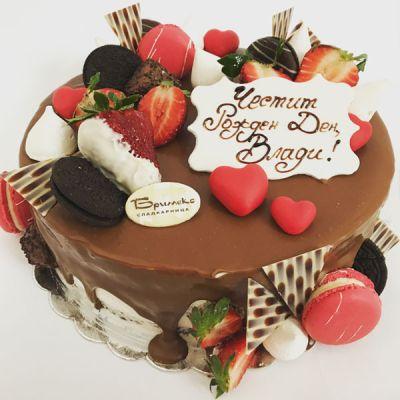 Торта Шоколодови изкушения 2