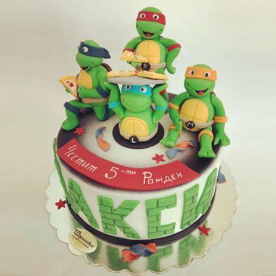 Торта Костенурките Нинджа 2