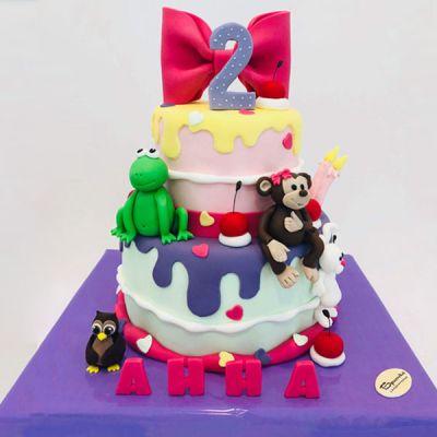 Торта Маймунка и Жаба