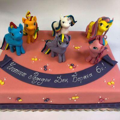 Торта Млакото и приятели