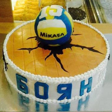 Торта Волейбол