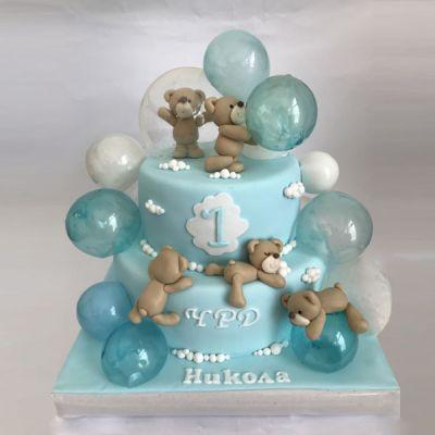 Торта Мечета и балони