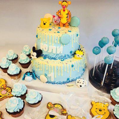 Торта Мечо Пух и приятели