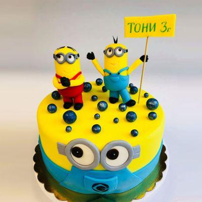 Торта Миньони 2