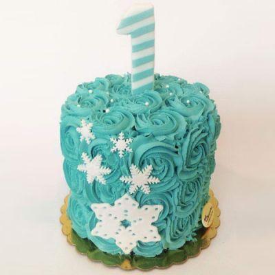 Торта Снежинки