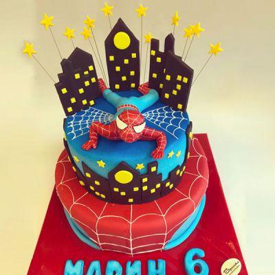 Торта Спайдърмен 1