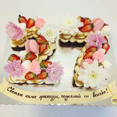 Торта Ягода