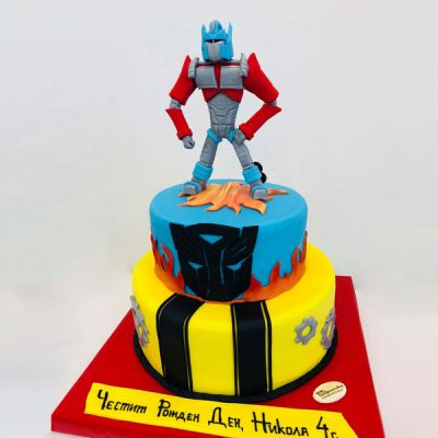 "Торта ""Transformers"" 3"