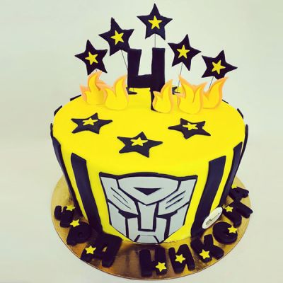 "Торта ""Transformers"" 2"