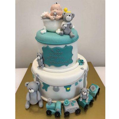 Торта за Погача-Мече и бебе