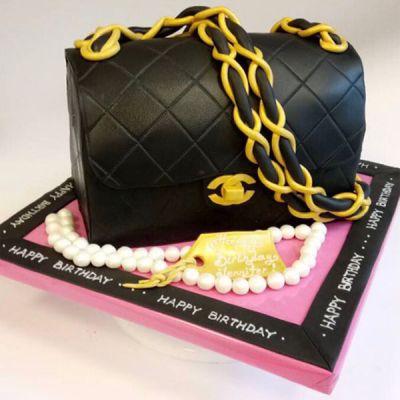"""Торта чанта """"Chanel"""""""