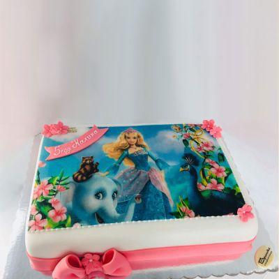 Торта Барби 1