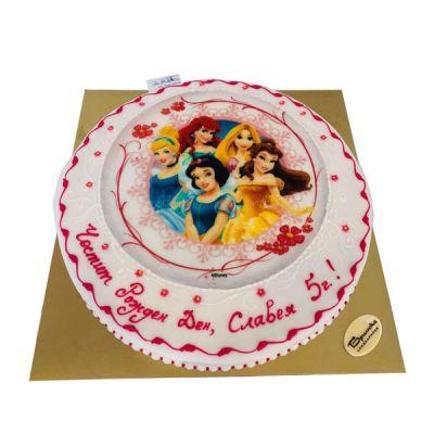 Торта Принцесите на Дисни