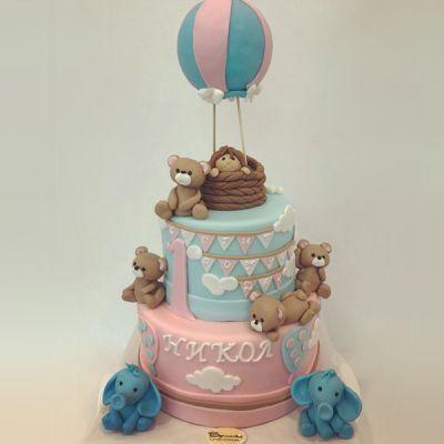 Торта Балон с кош