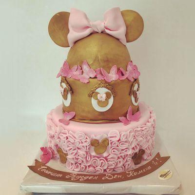 Торта Златен Мини Маус
