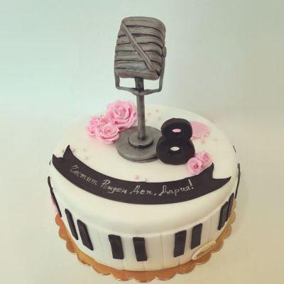 Торта Музикална