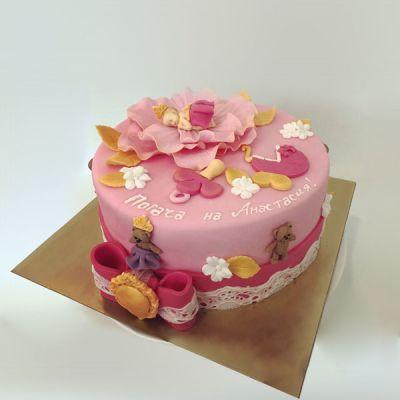 Торта за погача- Роза