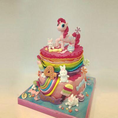 Торта Малкото пони и приятели 1