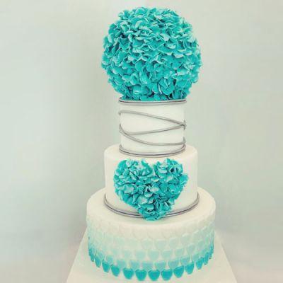 Торта Хортензия