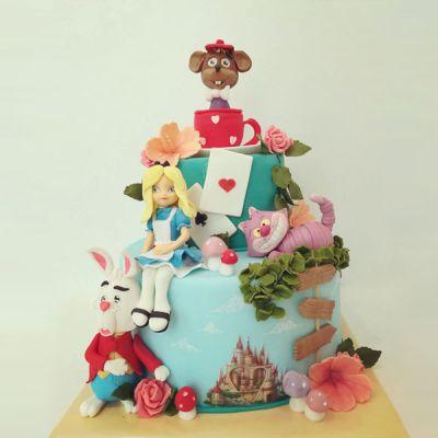 Торта Алиса и приятели