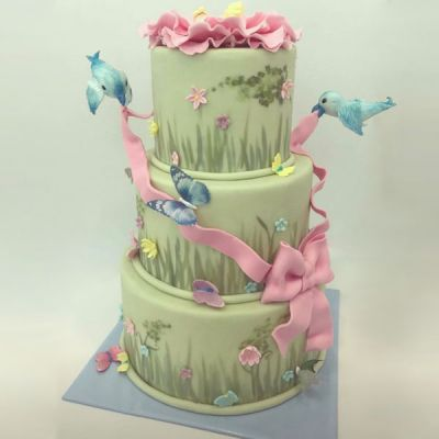 Торта Птички