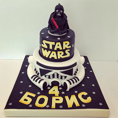 Торта Darth Vader