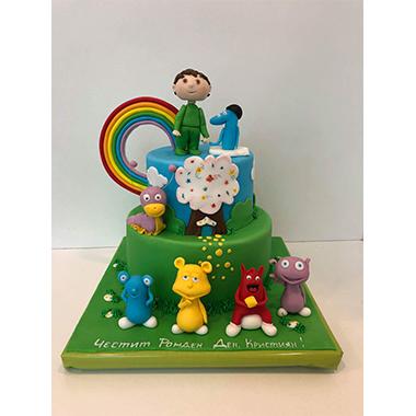 Торта Дъга и приятели