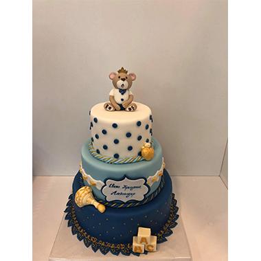 Торта за кръщене - за момче