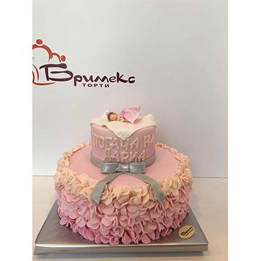 Торта за погача - Розова фея