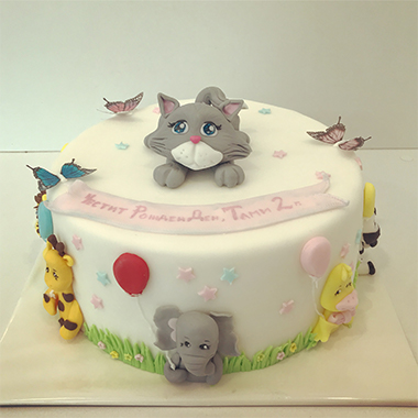 Торта Животинки