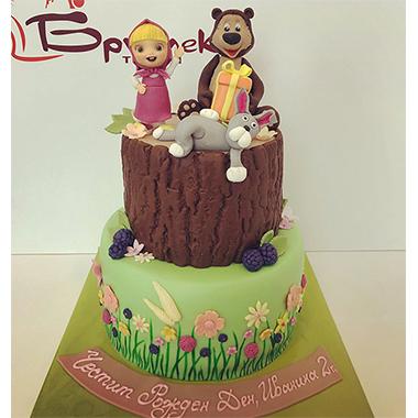 Торта Маша и приятели