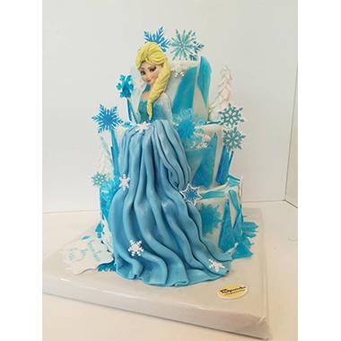 Торта роклята на Елза