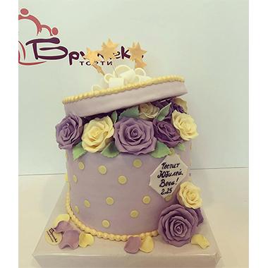 Торта Рози в кутия