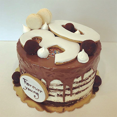 Торта Шоко и макарони