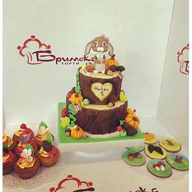 Торта дънер на заек