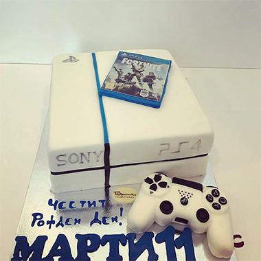 Торта Playstion Fortnite