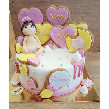 Торта Добре дошла