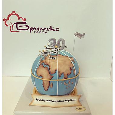 Торта Пътешественик