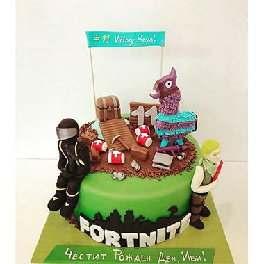 Торта Fortnite 2