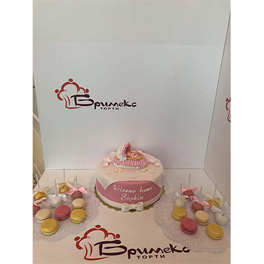 Торта Pink baby