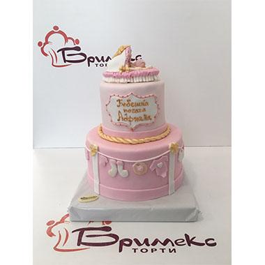 Торта Розова феерия